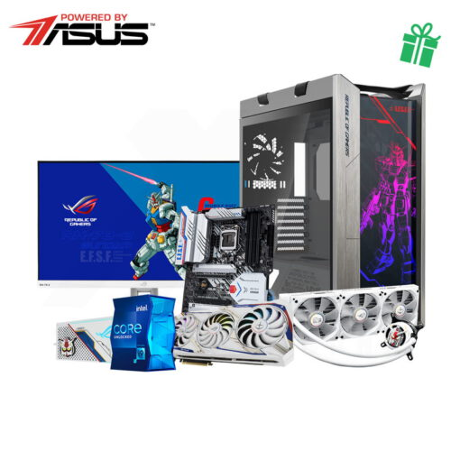 ASUS Gundam x FLXB Gaming PC Powered By Asus