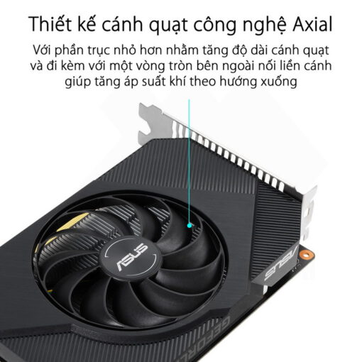 ASUS Phoenix Geforce GTX 1650 OC Edition 4G GDDR6 Graphics Card 2