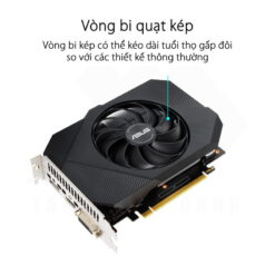 ASUS Phoenix Geforce GTX 1650 OC Edition 4G GDDR6 Graphics Card 3