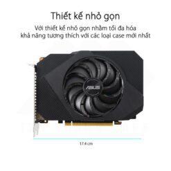 ASUS Phoenix Geforce GTX 1650 OC Edition 4G GDDR6 Graphics Card 6