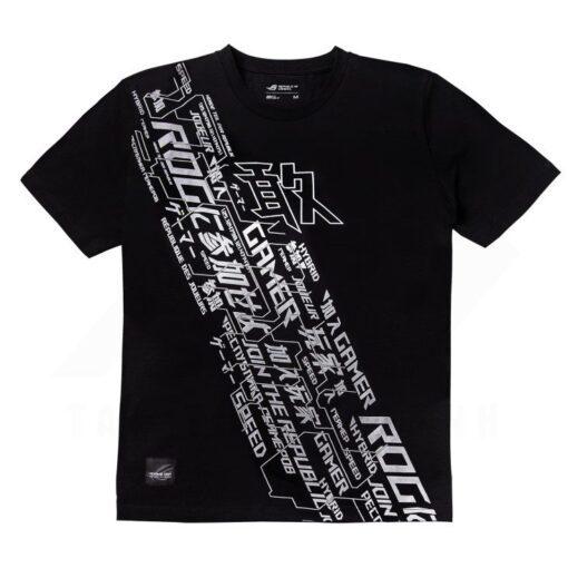 ASUS ROG Cybertext V T Shirt 1