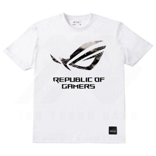 ASUS ROG Light Spot T Shirt – White 1