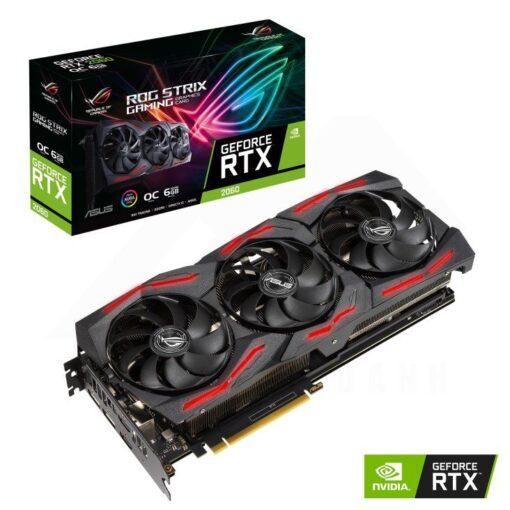 ASUS ROG Strix Geforce RTX 2060 SUPER OC Edition 6G EVO V2 Gaming Graphics Card 1