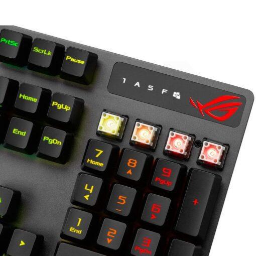 ASUS ROG Strix Scope RX Gaming Keyboard 9