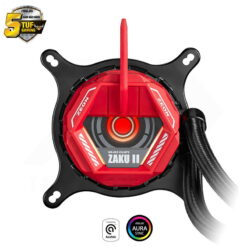 ASUS TUF GAMING LC 240 RGB GUNDAM ZAKU II EDITION Liquid Cooler 3