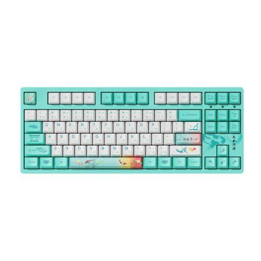 Akko 3087 v2 Monets Pond Keyboard 1