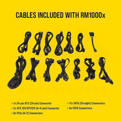 CORSAIR RMx Series RM1000x PSU 2