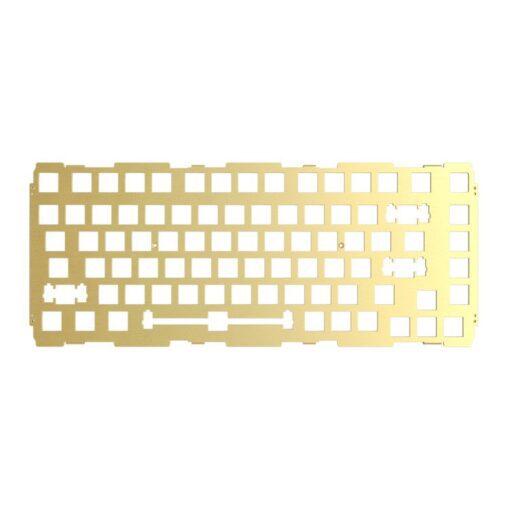 Glorious GMMK Pro Switch Plate – Brass Gold 1