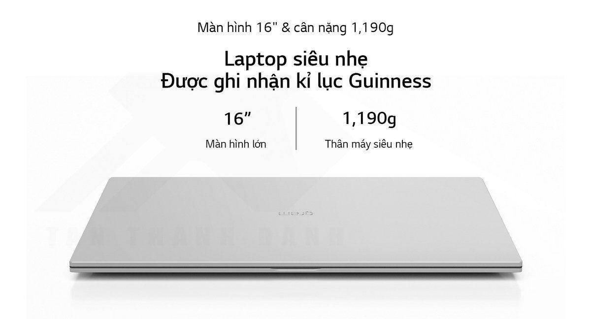 LG gram 2021 16Z90P G.AH73A5 Laptop Details 2