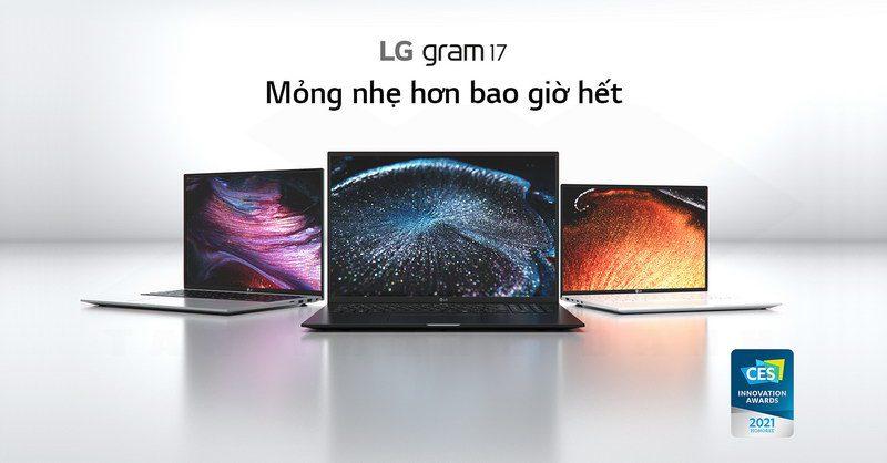 LG gram 2021 17Z90P G.AH76A5 Laptop Details 1
