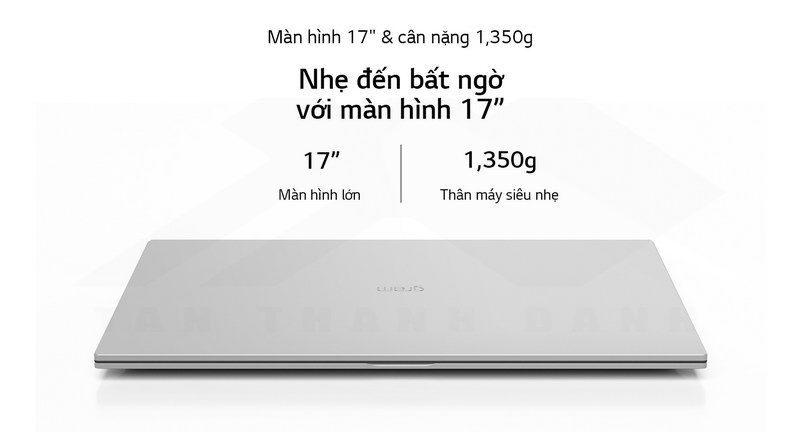 LG gram 2021 17Z90P G.AH76A5 Laptop Details 2