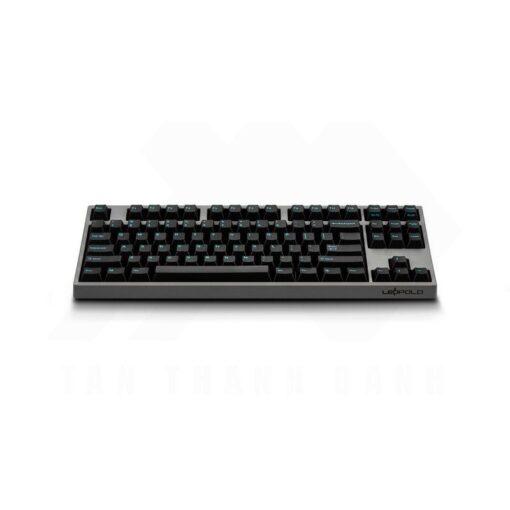 Leopold FC750R PD Charcoal BlueFont Keyboard 2
