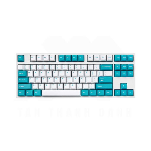 Leopold FC750R PD White Mint Keyboard 1