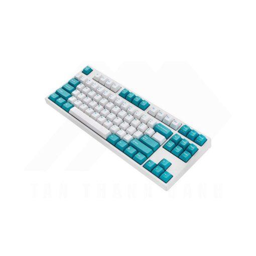 Leopold FC750R PD White Mint Keyboard 2
