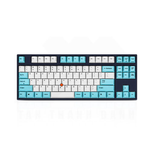 Leopold FC750R SP White Sky Blue Light Blue Keyboard 1