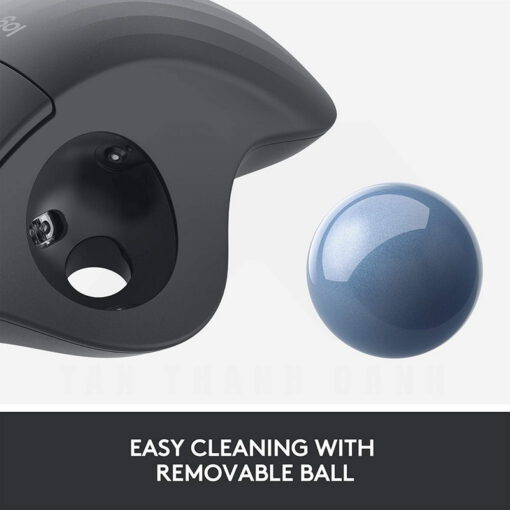 Logitech Ergo M575 Wireless Trackball Mouse – Black 7