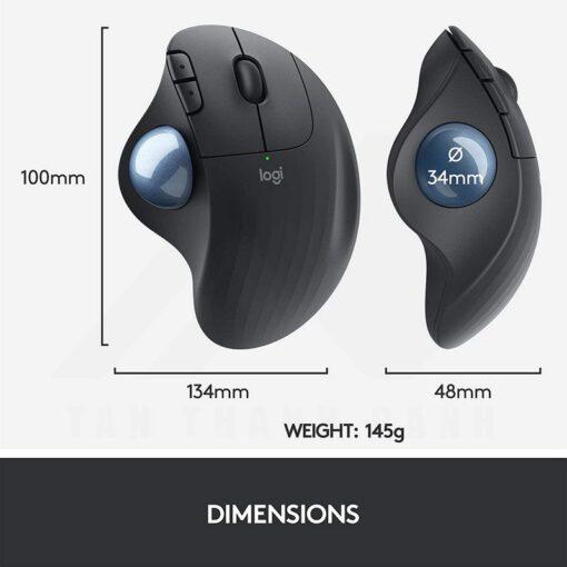 Logitech Ergo M575 Wireless Trackball Mouse – Black 9