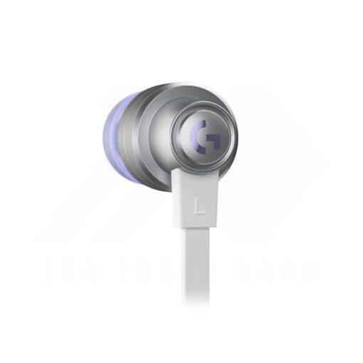 Logitech G333 In ear Gaming Earphones White 4