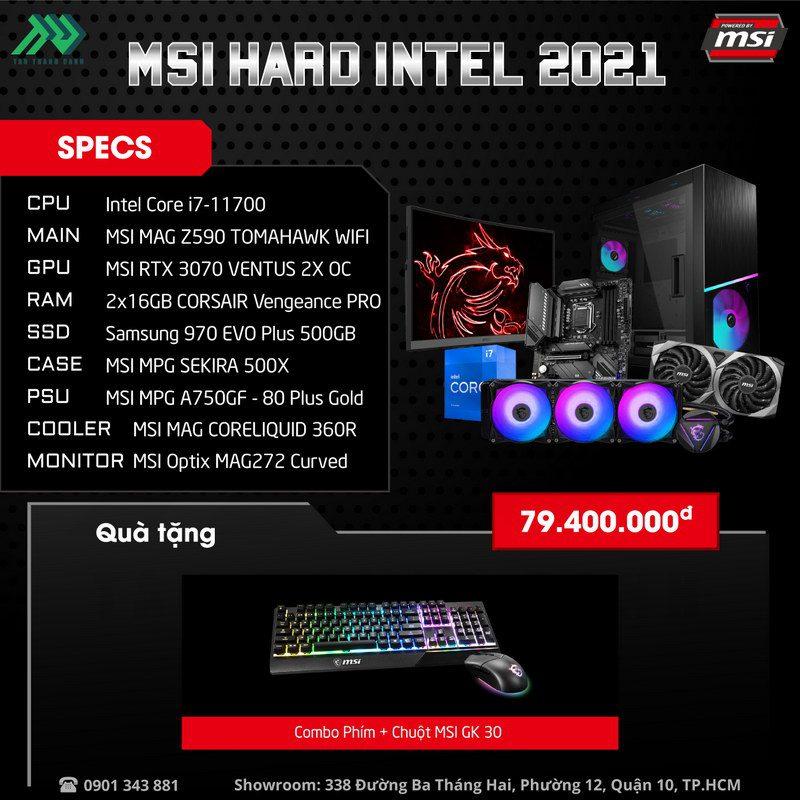 MSI Hard Intel 2021 PC – Power By MSI