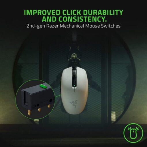 Razer Orochi V2 Wireless Mini Mouse – White 5