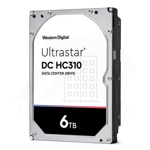 Western Digital UltraStar DC HC310 6TB HDD