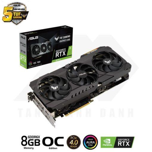 ASUS TUF Gaming Geforce RTX 3070 Ti OC Edition 8G Graphics Card 1