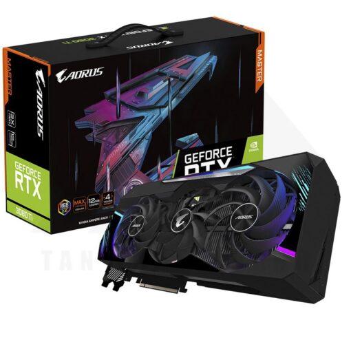 GIGABYTE AORUS Geforce RTX 3080 Ti MASTER 12G Graphics Card 1