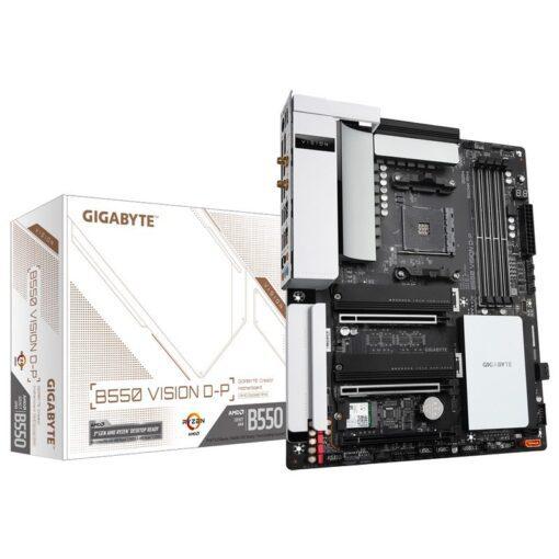 GIGABYTE B550 VISION D P Mainboard 1