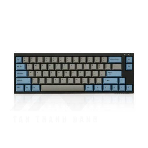 Leopold FC660MBT PD Blue Grey Bluetooth Keyboard 1