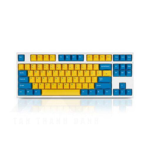 Leopold FC750R PD Swedish White Keyboard 1
