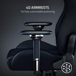 Razer Iskur Gaming Chair – Black 5