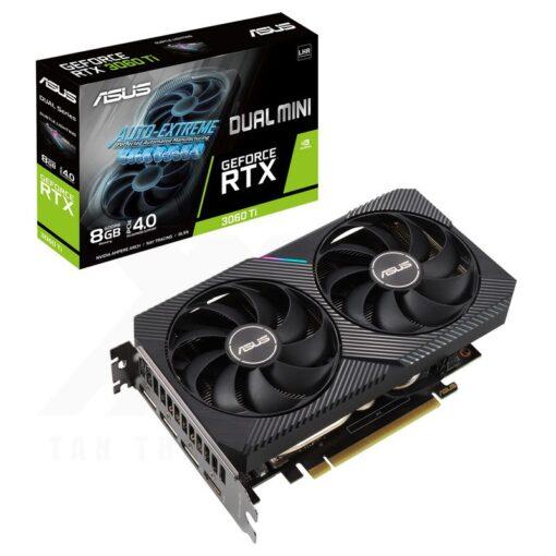 ASUS Dual Geforce RTX 3060 Ti V2 MINI 8G Graphics Card