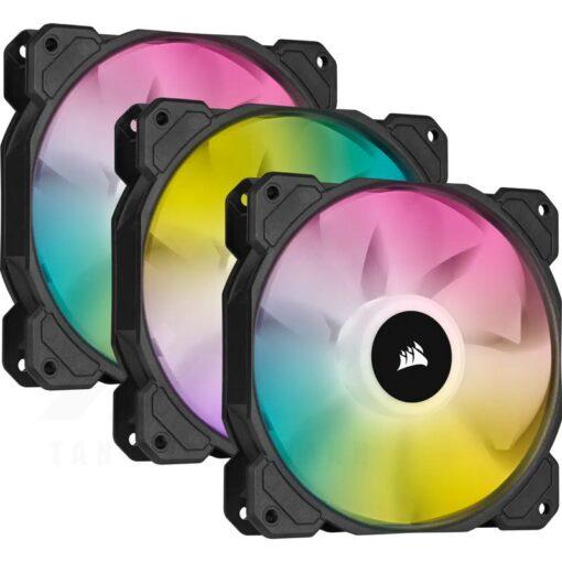 CORSAIR iCUE SP120 RGB ELITE Fan Triple Pack