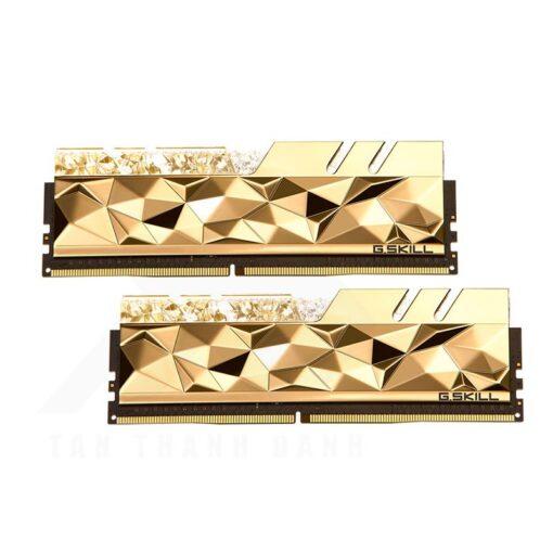 G.Skill Trident Z Royal Elite Memory Kit Gold 2