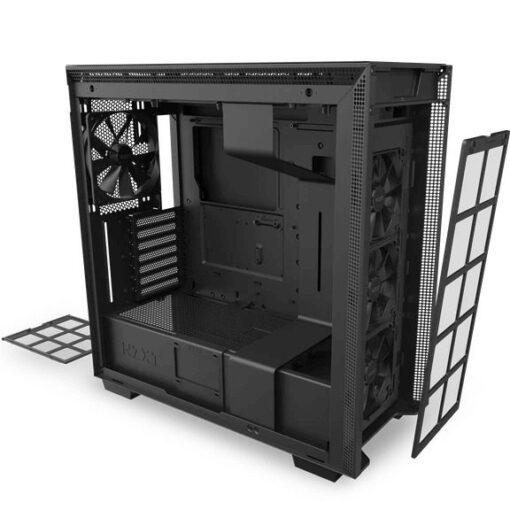 TTD h710 blackblack frontfilter bottomfilter
