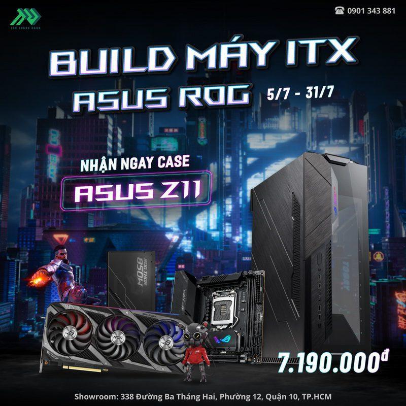 TTD Promotion 202107 BuildAsusITXTangCaseZ11 Details