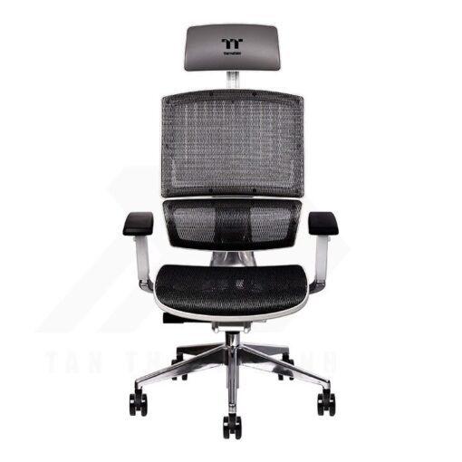 Thermaltake CyberChair E500 Gaming Chair White Edition 1