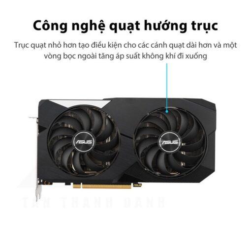 ASUS Dual Radeon RX 6600 XT OC Edition 8G Graphics Card 2