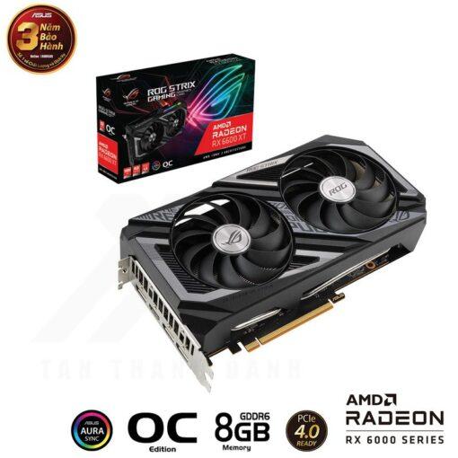 ASUS ROG Strix Radeon RX 6600 XT OC Edition 8G Gaming Graphics Card 1