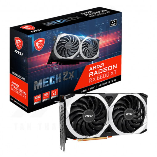 MSI Radeon RX 6600 XT MECH 2X 8GB Graphics Card 1