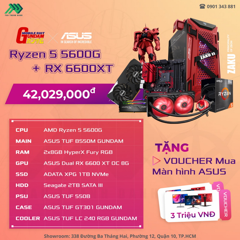 TTD PC ASUSGundamZakuPC Details