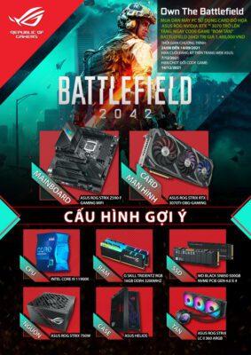 Promotion Battle Field 2042 ROG