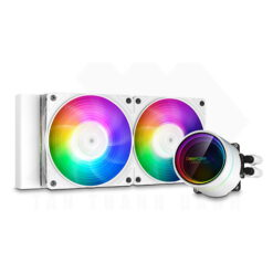 Deepcool Castle 240EX A RGB AIO Liquid CPU Cooler 1